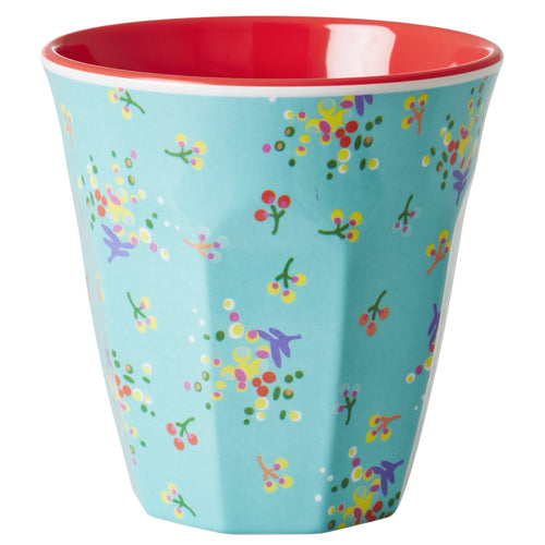 Mini Flower Print Melamine Cup - Bluebells of Bath