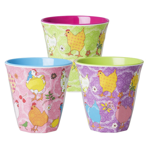 Hen Melamine Cup - Bluebells of Bath