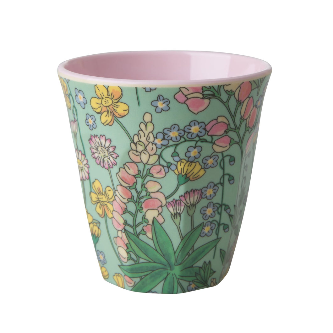 Lupin Print Medium Melamine Cup - Bluebells of Bath