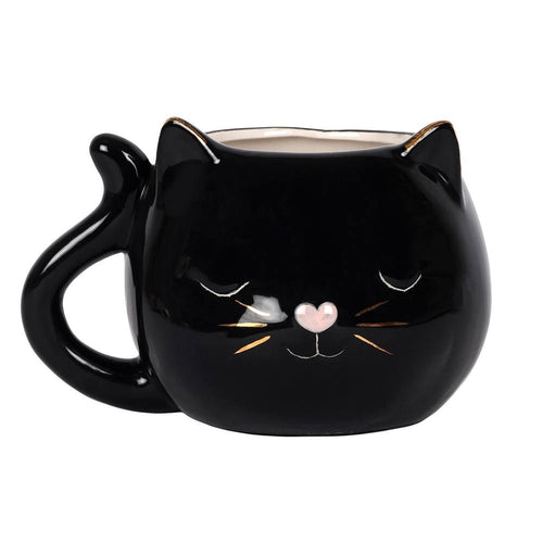 Cat Face Mug - Bluebells of Bath