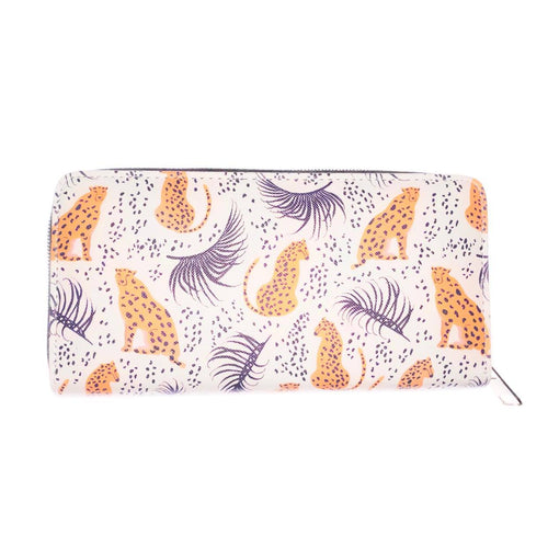Jaguar Print Purse bluebells of bath