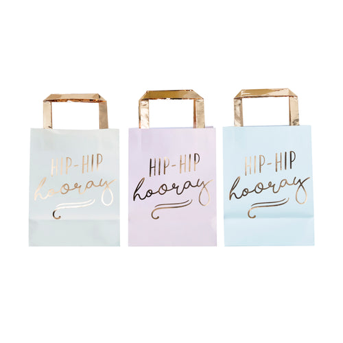 Gold Foiled Party Bags - Bluebells of Bath