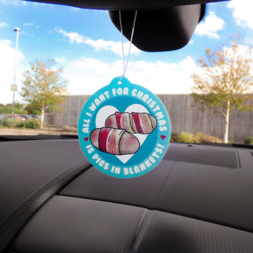 Pigs in Blankets Air Freshener native 21 bluebells of bath