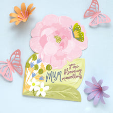 Blooming Marvellous Mum Card - Bluebells of Bath