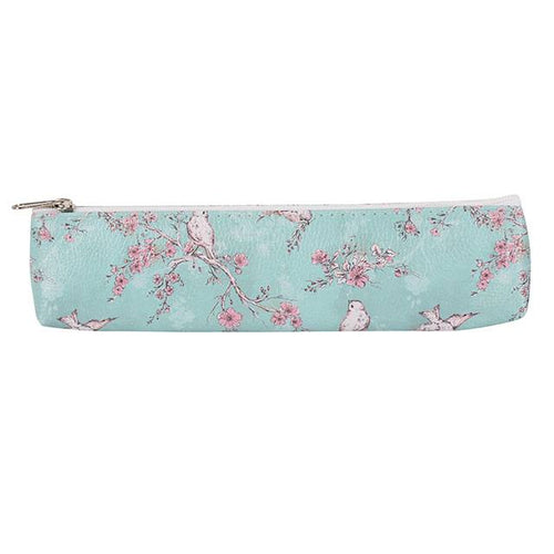 Rustic Romance Slim Pencil Case - Bluebells of Bath