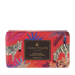 Sara Miller London Orange Flower, Frangipani & Jasmine Scented Soap - Bluebells of Bath