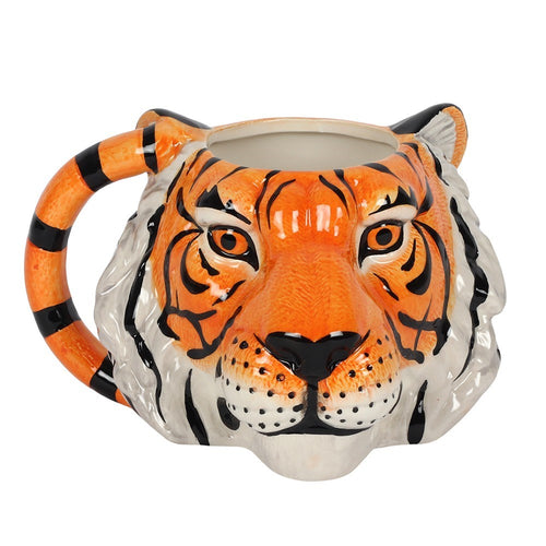 Tiger Face Mug - Bluebells of Bath