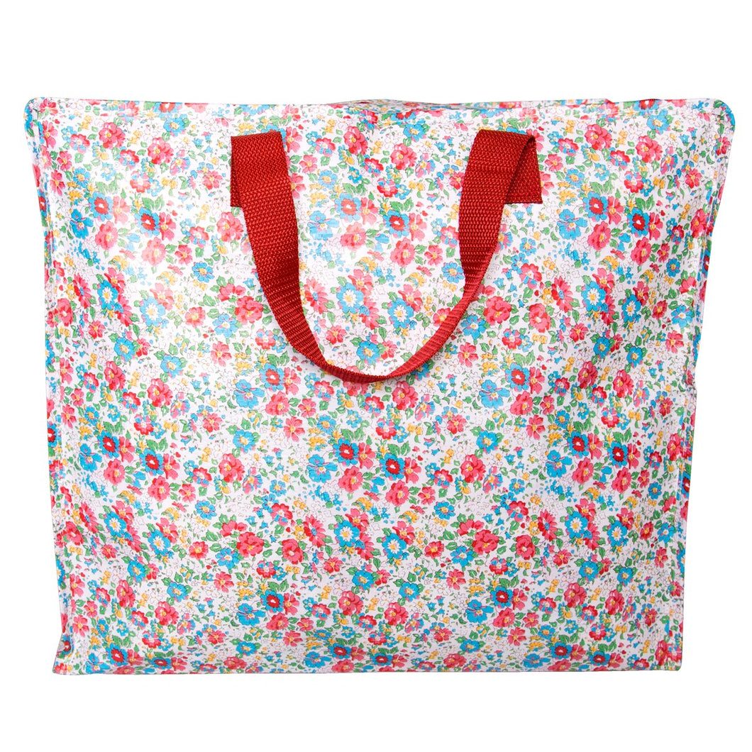Vintage Floral Spring Storage Bag - Bluebells of Bath