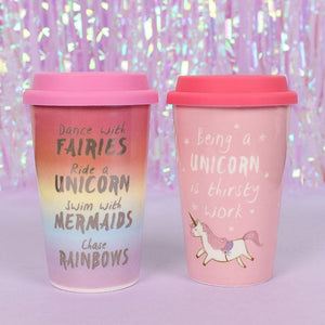 Unicorn Travel Mug - Bluebells of Bath
