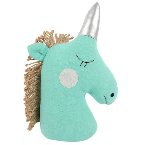 Green Unicorn Doorstop - Bluebells of Bath