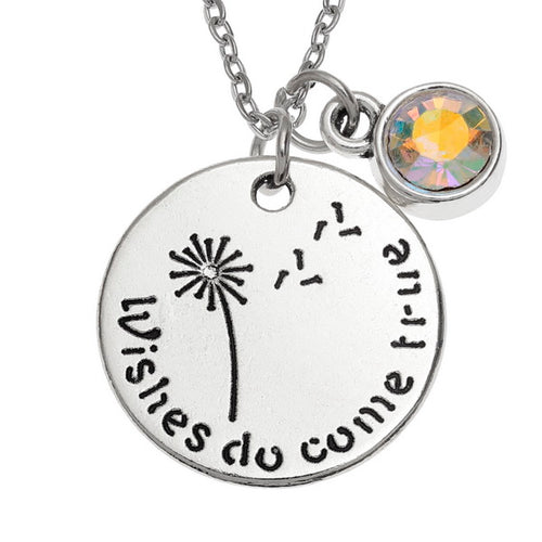 Wishes do Come True Necklace - Bluebells of Bath
