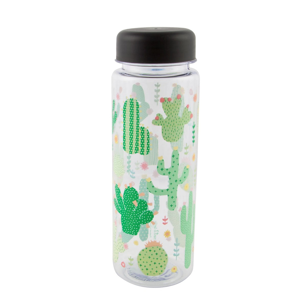 Cactus Water Bottle - Bluebells of Bath