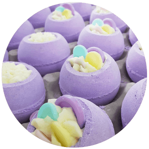 Bomb-jamin Button Bath blaster bomb cosmetics bluebells of bath