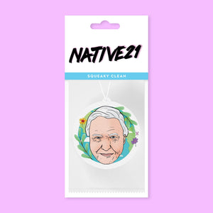 Attenborough Air Freshener car native 21 bluebells of bath