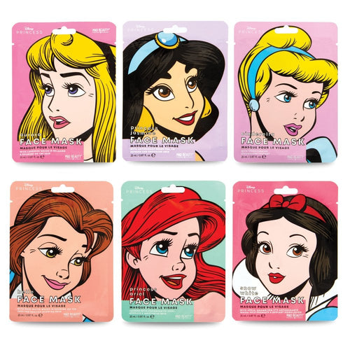 Pop Princess Sheet Face Masks Disney mad beauty bluebells of bath