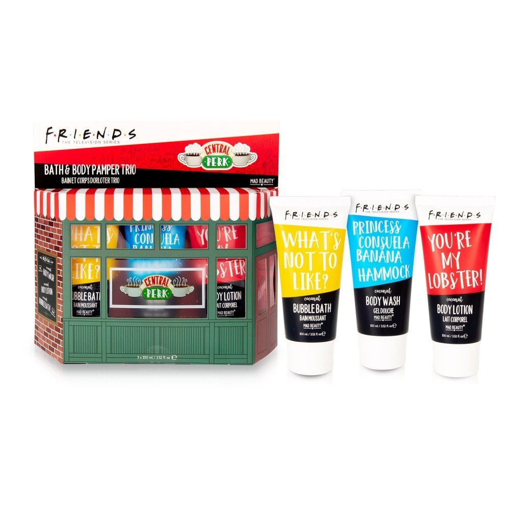 Friends Central Perk Pamper Trio mad beauty bluebells of bath