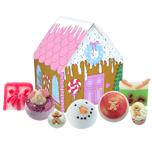 The House of Sugar & Spice Gift Set bomb cosmetics bluebells of bath