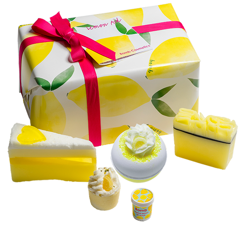 Lemon Aid Gift Set bomb cosmetics bluebells of bath