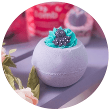 Let's Get Kraken Bath Blaster bomb cosmetics bluebells of bath