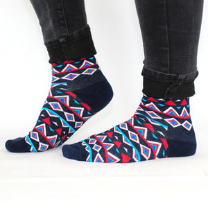 Aztec Lucky Socks - Bluebells of Bath