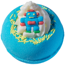 Robo-bomb Bath Blaster bomb cosmetics bluebells of bath