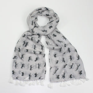 Ziggy the Zebra Scarf - Bluebells of Bath