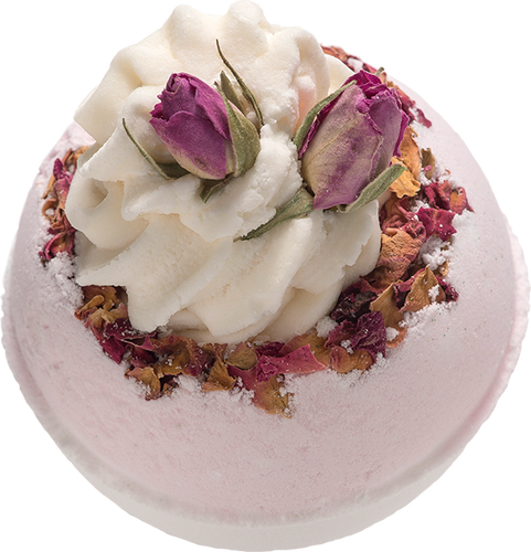 Wild Rose Bath Blaster bomb cosmetics bluebells of bath