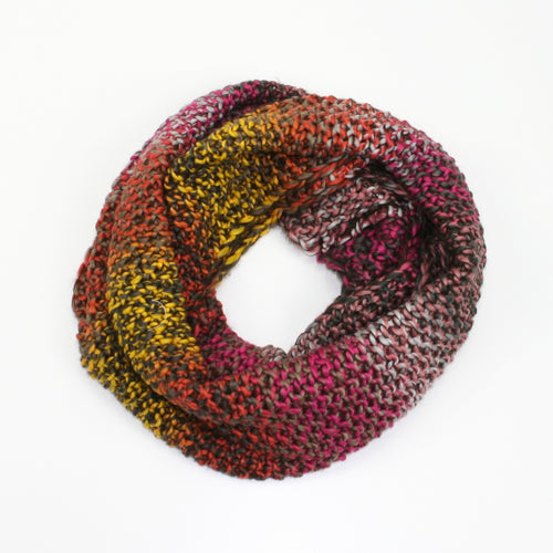 Paris Brown Snood Scarf - Bluebells of Bath