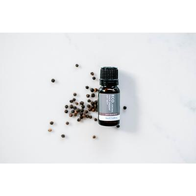ECO Black Pepper Essential Oil Circulation Digestion & Bruises