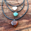 Jasper, Quartz or Aventurine Pendants clearance
