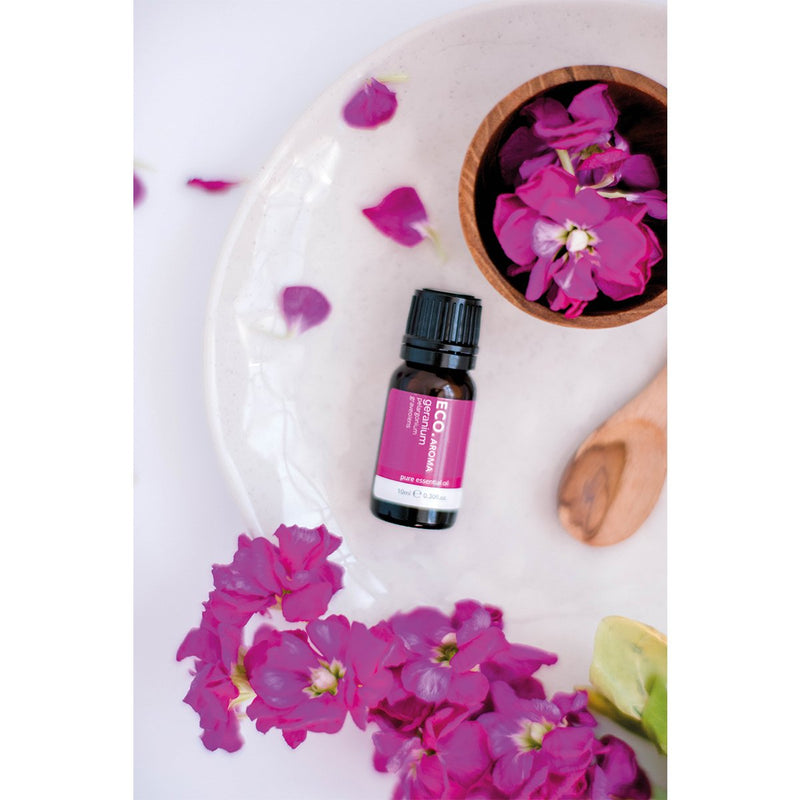 ECO Geranium Anxiety & Fatigue Essential Oil Blend