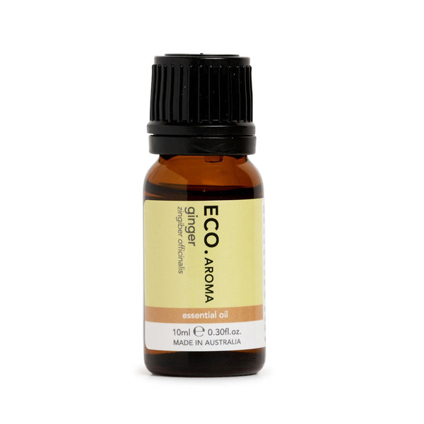 ECO Ginger Essential Oil Morning Sickness & Circulation