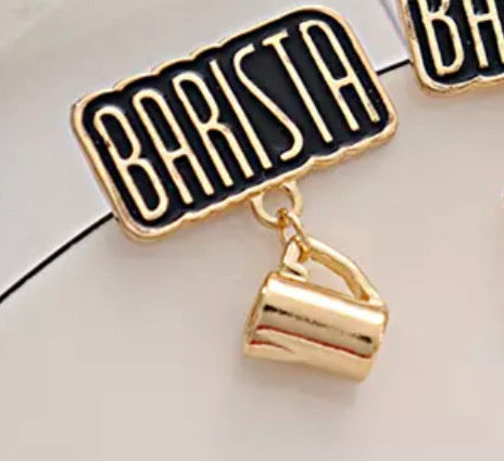 Barista Shirt Pin