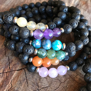 Adult Lava Love Assorted Diffuser Bracelets