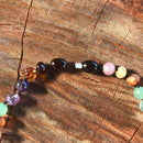 Super Calm Amber & Lepidolite Labradorite Amethyst Necklace & Bracelet or Set Immunity