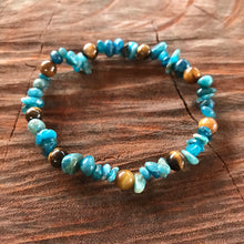 Weight loss & Energy Apatite Tiger eye Adult Bracelet