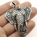 Beautiful Lucky Elephant Adult Necklace Pendant