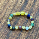 Baby, Kids & Adults Raw Yellow Amber & Anxiety Super Calm Selection Bracelets