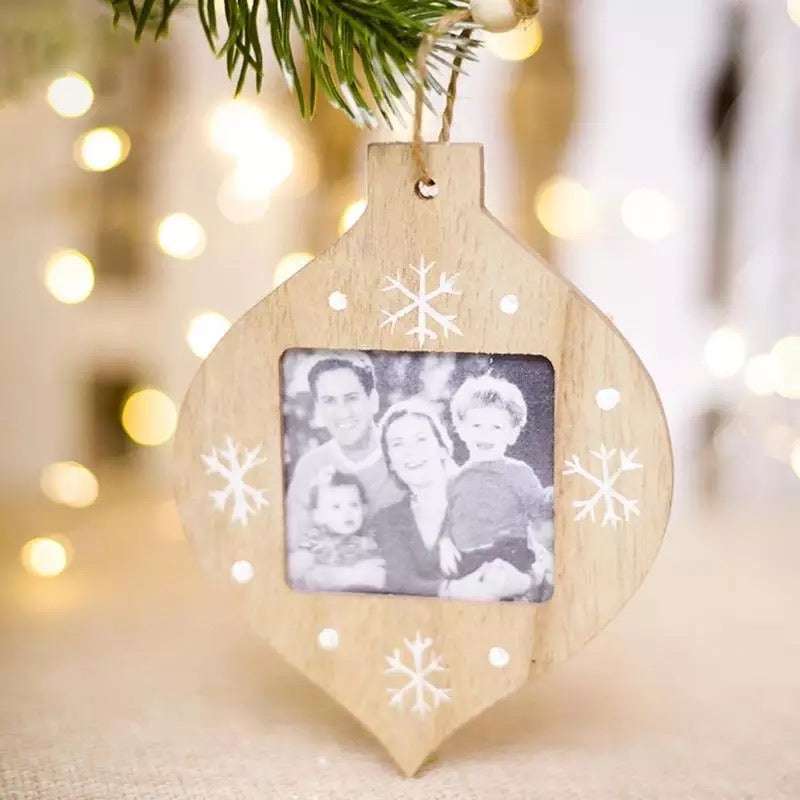 Christmas Photo Tree Hanging Decorations