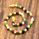 All Sizes Raw Yellow Amber & Anxiety Super Calming Selection Teething Necklace & Bracelets