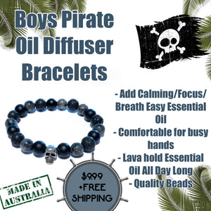 Kids Pirate Lava Diffuser Bracelets from $9.99
