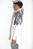 Feather Neoprene Trench Coat