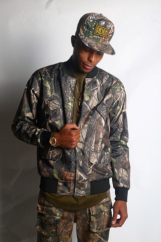 Streetwear Bomber Jacket: The Forest Bomber