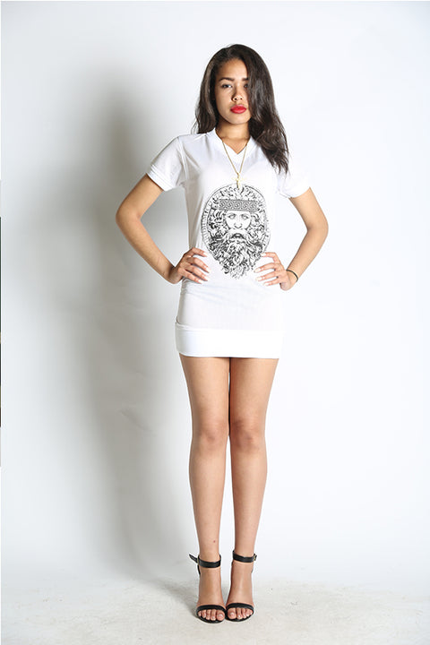 Logo Jersey Mini White