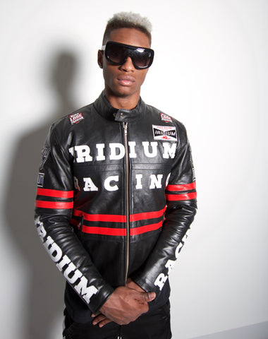 Racing Biker Jacket Black