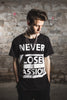 Never Lose Passion t-shirt (2 color ways)