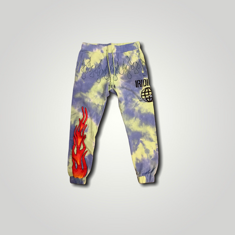 World Flame Joggers TYE DYE