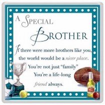 SPECIAL BROTHER MAGNET WITH VERSE