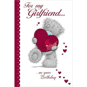 Girlfriend Birthday Luxury Me to You Bear Card