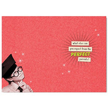 Son You Must be the Perfect Son..Off Your Rocker Happy Birthday Humorous Male Funny Greeting Card YR07